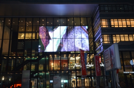 Glass LED Screen The Hague