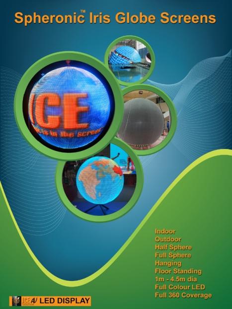 LED Spheronic Screen